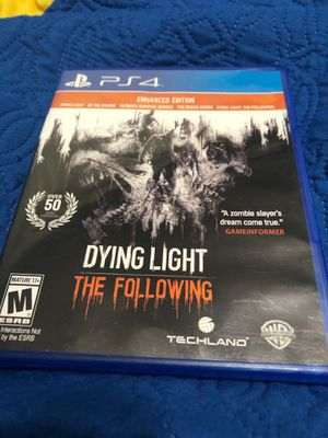 Dying light the following enchanted edition:ps4 for Sale in Palm Springs, FL