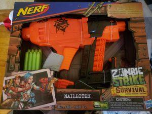 Nerf zombie strike for Sale in Burlington, NC