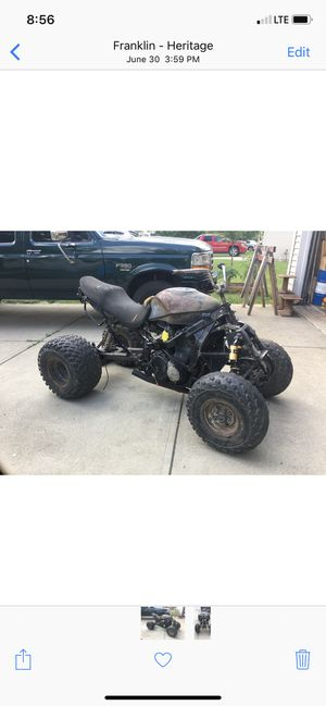 Motorcycle/ four wheeler for Sale in Indianapolis, IN