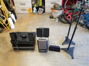 Older home theater/stereo equipment (Sony and Onkyo) for Sale in City of Industry, CA