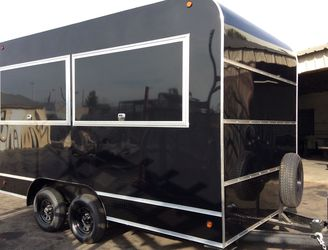 Food vending game cargo enclosed trailer for Sale in Los Angeles,  CA