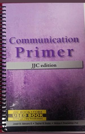 Communication Primer JJC Edition for Sale in Bolingbrook, IL