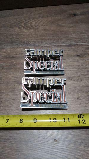Original camper special badges for Sale in Huntington Park, CA