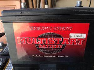 Multi start heavy duty battery for Sale in Bakersfield, CA