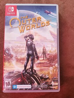 The Outer Worlds For Nintendo Switch for Sale in Cranston,  RI