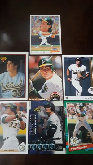 Jose canseco cards for Sale in Miami Gardens, FL