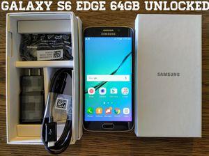 Galaxy S6 Edge (64GB) GSM-UNLOCKED + Verizon (Like-New) for Sale in Lincolnia, VA