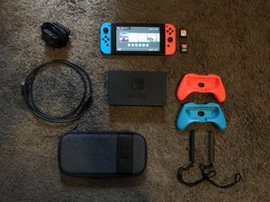 Nintendo Switch w/ Games and Accessories for Sale in North Ridgeville, OH