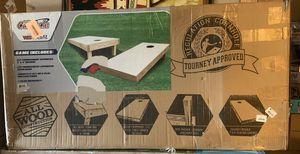 Wild sports authentic 2' x 4 ' cornhole set for Sale in Covina, CA