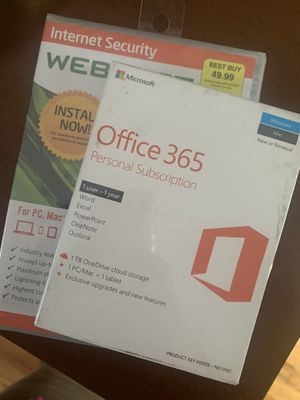 Microsoft Office 365 + Web security for Sale in Stratford, CT