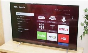 50INCH TCL•ROKU WIFI SMART TV for Sale in San Mateo, CA