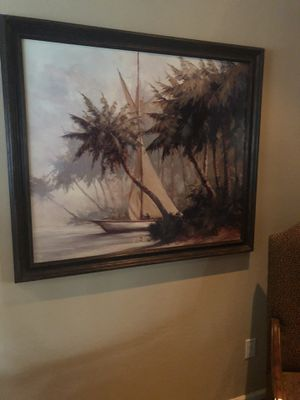 """41""""x 47"""" solid wood frame painting ....OBO for Sale in Erie, PA"""