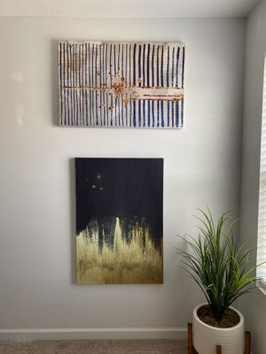 2 Large Wall Art set for Sale in Portage, MI