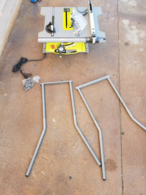 Ryobi table saw with stand for Sale in Santa Ana, CA