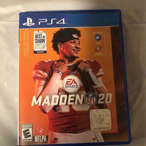 Madden NFL 20 for Sale in Newport News, VA