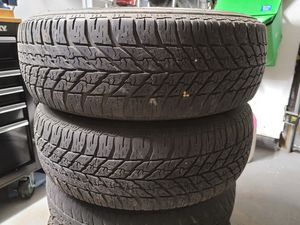 Set of 4 Tires with rims 05-10 Odyssey 23565R16 for Sale in North Haven, CT