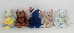 ty beanie baby lot Of 5 for Sale in Dunwoody, GA