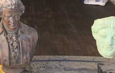 Brown Statue Left for Sale in Fairburn,  GA