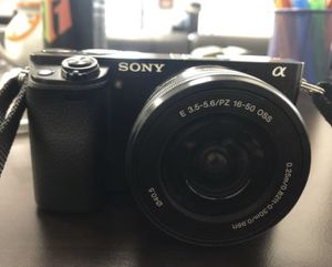 Sony A6000 24.3 MP Digital Camera for Sale in South El Monte, CA