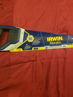 """Irwin Marples 2011328 Universal 15"""" Coarse Cut Hand Saw 8 TPI Tri-ground Teeth for Sale in Schenectady,  NY"""