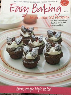 Baking Cookbook for Sale in Evansville, IN