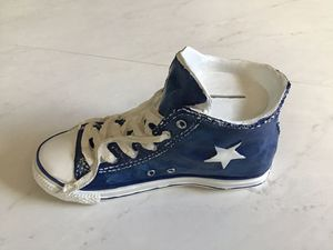 Classic Blue High Top Sneaker Coin / Piggy Bank for Sale in Goodlettsville, TN