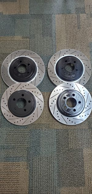 Dodge Challenger drilled and slotted rotors for Sale in Houston, TX