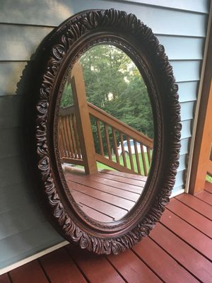 Antique/Vintage Carved Wooden Mirror for Sale in Buford, GA