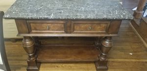 Antique Marble End Table for Sale in Nashville, TN