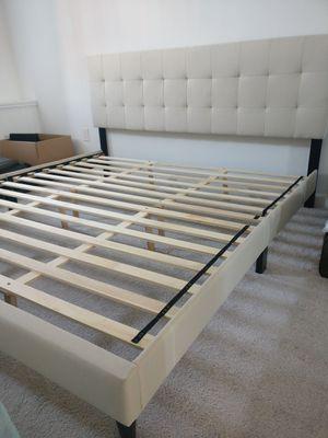King size bed frame for Sale in Arlington, VA