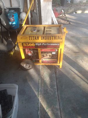 8500 titan generator for Sale in Tarpon Springs, FL