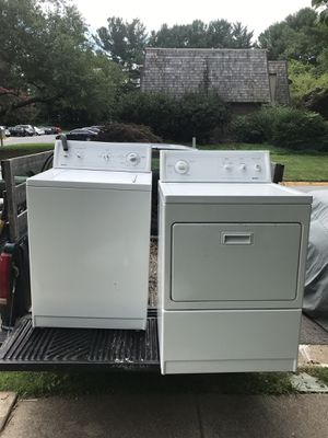 Kenmore washer and dryer for Sale in Gaithersburg, MD