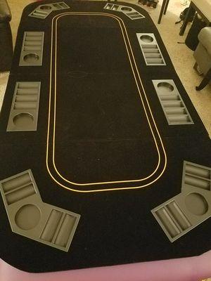 8 player blackjack/poker tabletop for Sale in Osseo, MN