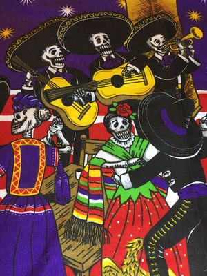 La Catrina Day of the Dead Mariachi Serenade Apron - Mandil de Dia de Muerto La Serenata for Sale in Chicago, IL