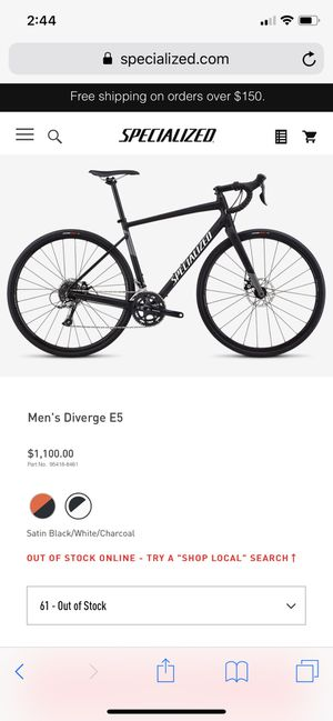 Specialized Diverge E5 for Sale in Pittsburgh, PA