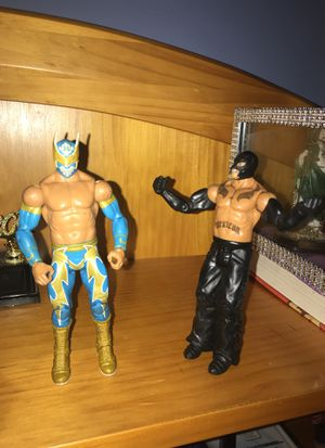 Rare Ray Mysterio and Sin Cara for Sale in Queens, NY