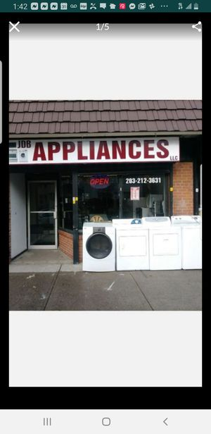 We have new and used appliances,we have refrigerators,washers,dryers,freezers,microwave,dishwasher. We are located in Bridgeport ct for Sale in Stamford, CT