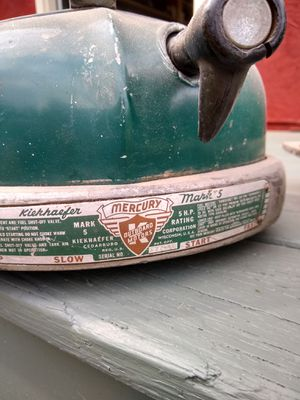 Vintage boat motor tops for Sale in Darlington, PA