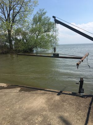 T bar for lifting small boat with davit for Sale in Lakeside Marblehead, OH