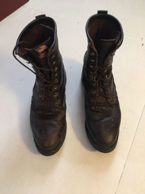 Justin Original Work Boots - Size 10 for Sale in Monroe, OH