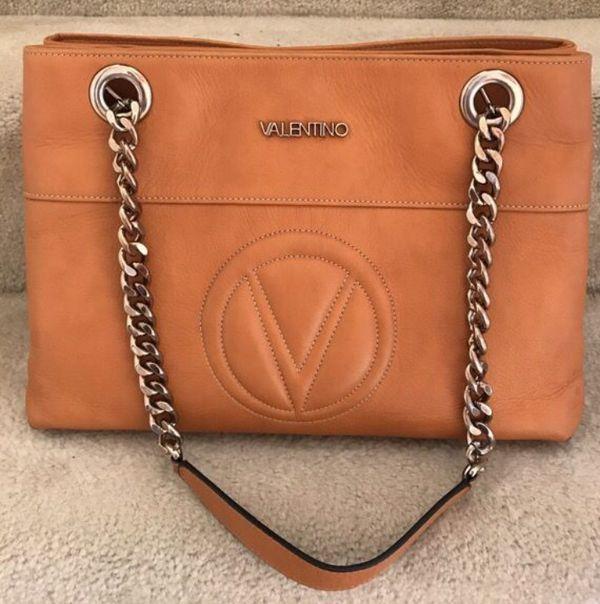 Valentino Verra leather handbag