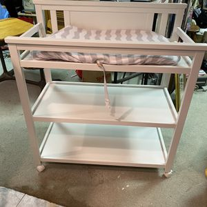 White Baby Changing table for Sale in Boston, MA