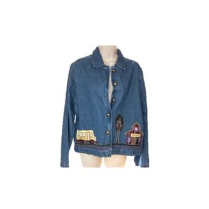 New Direction Embroidered Denim Jean Jacket for Sale in Minneapolis, MN