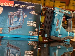 MAKITA 18v CORDLESS 18GAU BRAND NAILER TOOL ONLY for Sale in Turlock, CA