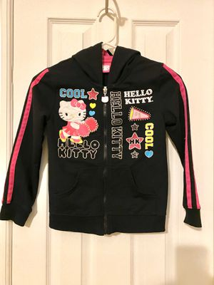 Hello Kitty Girls Hoodie size 7/8 for Sale in Marengo, OH