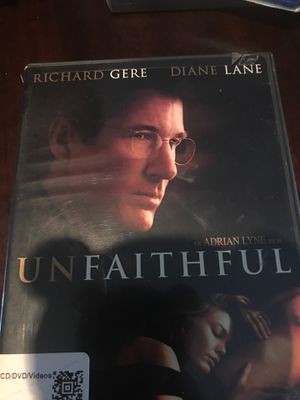 Unfaithful movie for Sale in Riverside, CA