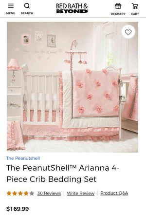 Crib Bedding Set $90 for Sale in LaBelle, FL