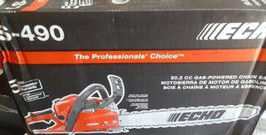 "SEMI-NEW ECHO 50.2 cc Gas-Powered Chainsaw 20"" CS-490 for Sale in Phoenix, AZ"