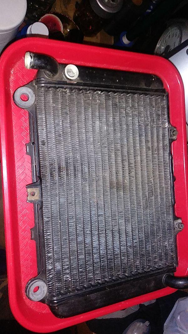 Kawasaki 600 radiator