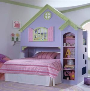 Dollhouse bed for sale for Sale in Naperville, US